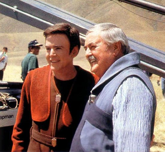 Curiosities: Rare Star Trek Pictures, Chekov & Scotty