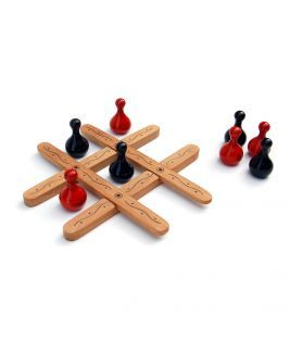 Tic Tac Toe Is A Simple Strategy Game For Children Handicrafts