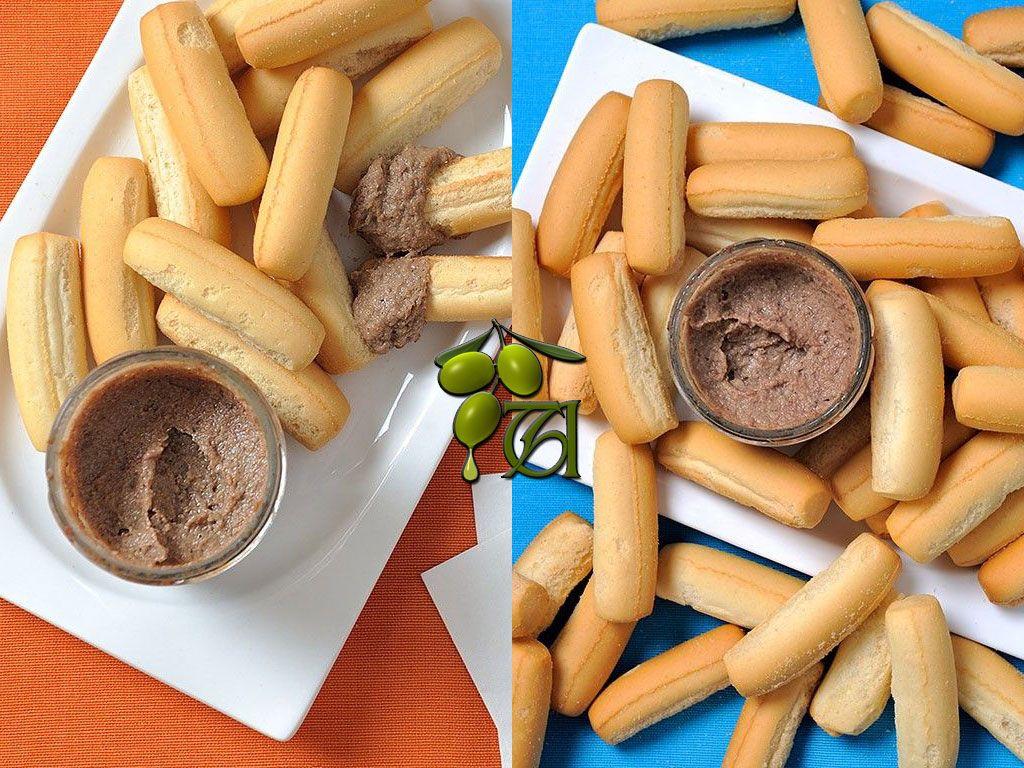 Otra combinación deliciosa: Picos con paté de morcilla y con paté de ciervo. (Foto en Pinterest)