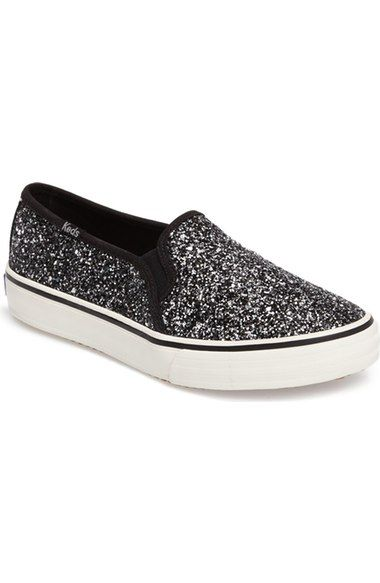 0bd9d30f8a37 Keds® Double Decker Glitter Slip-On Sneaker (Women) available at  Nordstrom