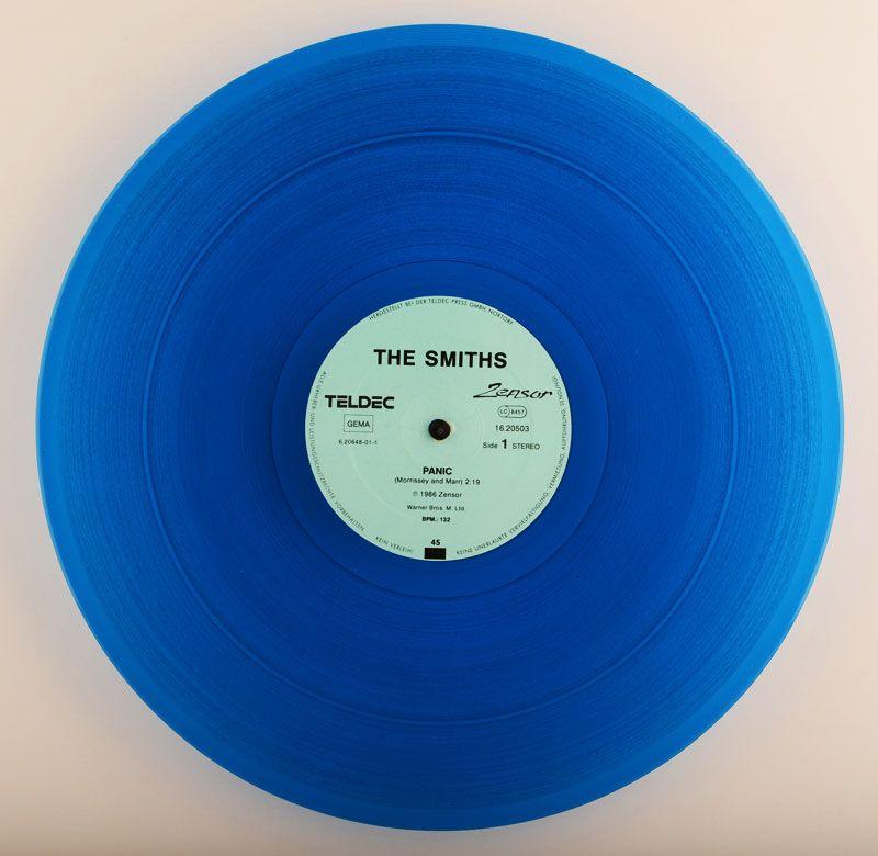 The Smiths Panic Blue Vinyl 12 12 Inch12 Inch Vinyl Sleeves Blue Vinyl Nirvana Vinyl