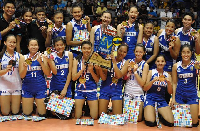Ateneo Lady Eagles With Images League Champs League Champs