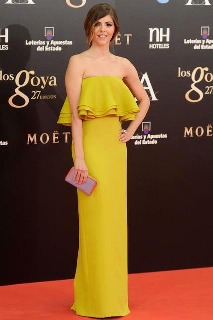 9f9401bf6 Manuela Velasco de Gucci en la gala de los premios Goya. Estilo So magazine.