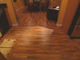 Changing Direction Of Wood Floor To Define Each Room Laying Hardwood Floors Veneer Flooring Flooring