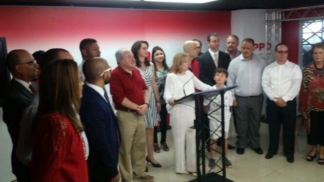 CONTRAPUNTOS --PPD-- Alcaldesa Carmen (Yulín) Cruz radica candidatura a reelección para la Ciudad de San Juan.