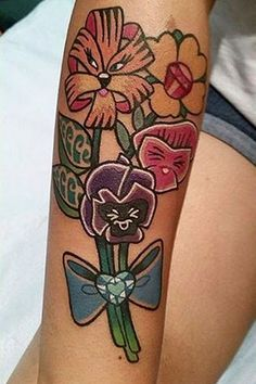 Alice In Wonderland Flowers, By @Melvin_azirmendi