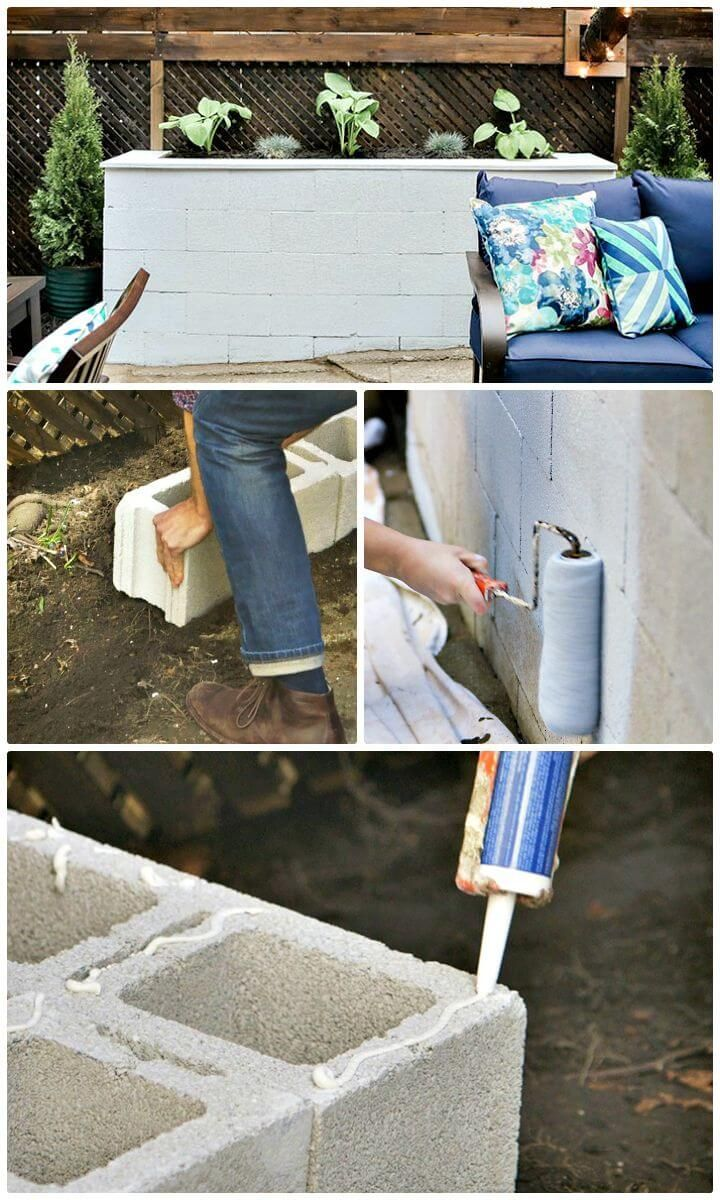 22 DIY Cinder Block Planter Ideas To Update Your Garden | Cinder, Planters  And Gardens