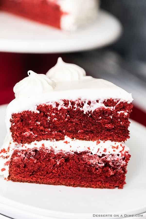 Red Velvet Cake Recipe Easy Red Velvet Cake Recipe Recipe In 2020 Cake Recipes Red Velvet Cake Cake