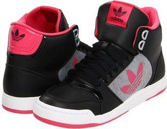 Autenticación Rana Destreza  adidas Midiru Court 2.0 Trefoil W (Black/Super Pink/White) - Footwear -  ShopStyle Athletic Shoes | Stylish sneakers, Adidas originals, Adidas