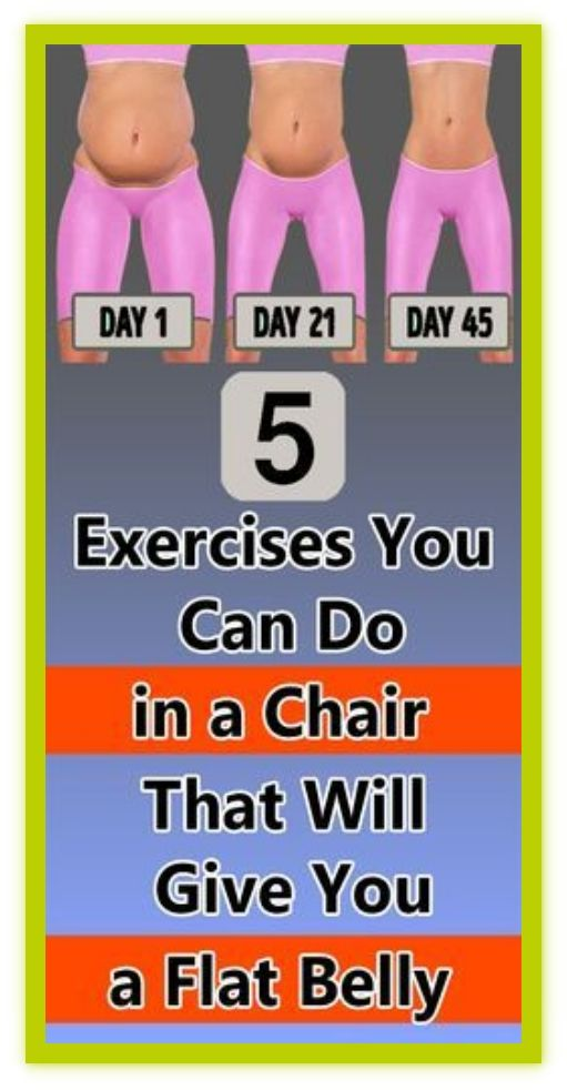 5 Exercises You Can Do in a Chair That Will Give Y