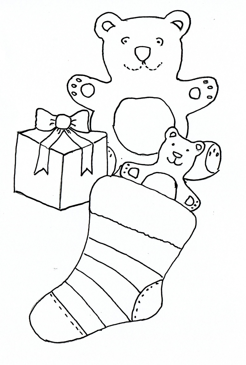 Kids Drawing Templates And Coloring Drawing Templates Drawing For Kids Christmas Drawing