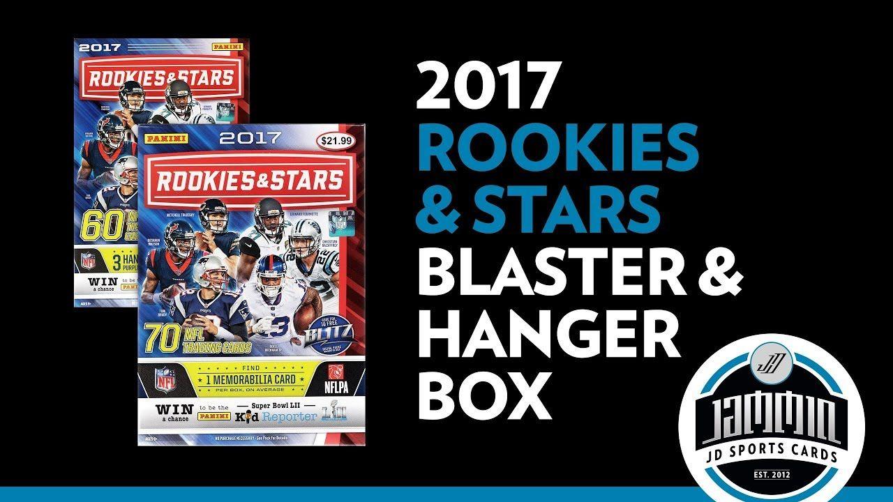 2017 rookies stars blaster box and hanger box football