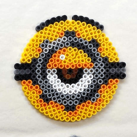 Minions: Perler Bead [Coasters, Decorations, Magnets