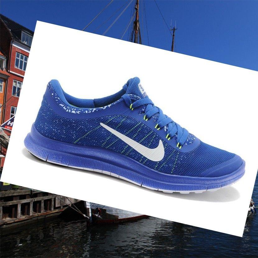 Sports shoes, Nike Free 3.0 v6 Sapphire Blue/Fluorescent
