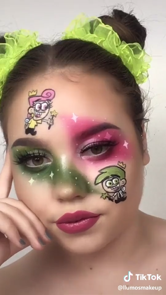 Photo of Fairly Odd Parents Wanda and Cosmo Makeup