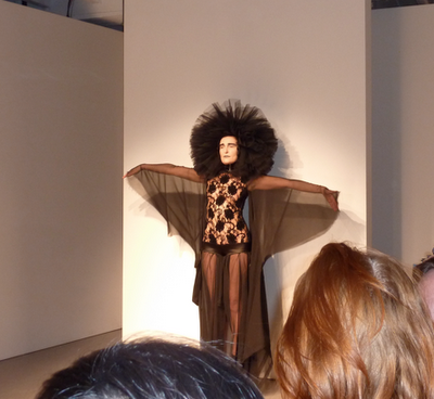 Siouxsie does runway for Pam Hogg 2010