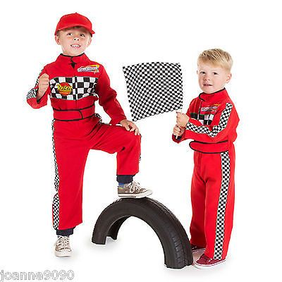 Race Car Driver Costume For Kids  Years Old