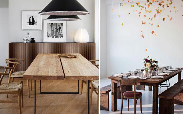 Cómo decorar el comedor en estilo Rustic Chic | New House ...