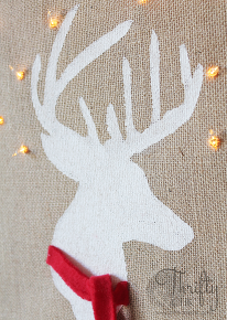 light up deer silhouette, christmas decorations, crafts, diy, home decor