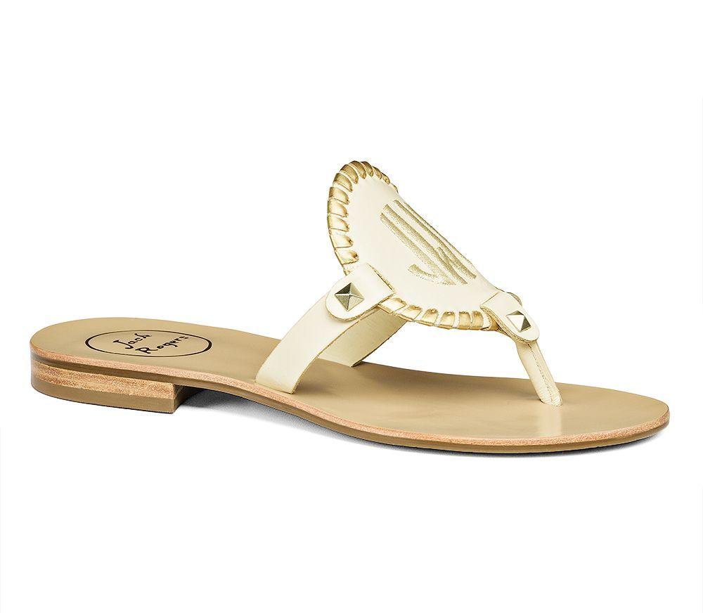 466fb129dc01 Georgica Monogrammed Sandal