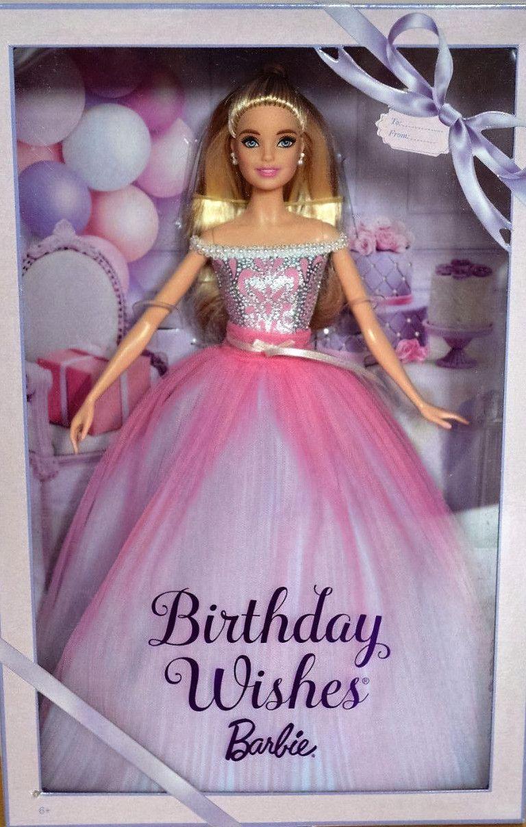 Happy Birthday Barbie 2017 Deseos de cumpleaños, Barbie