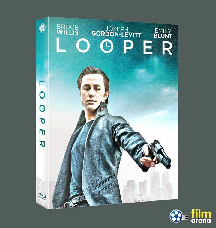 LOOPER FullSlip front side  #filmarenacollection #fullslip #bluray #movie #josephgordonlevitt #brucewillis #steelbook #steelbooks