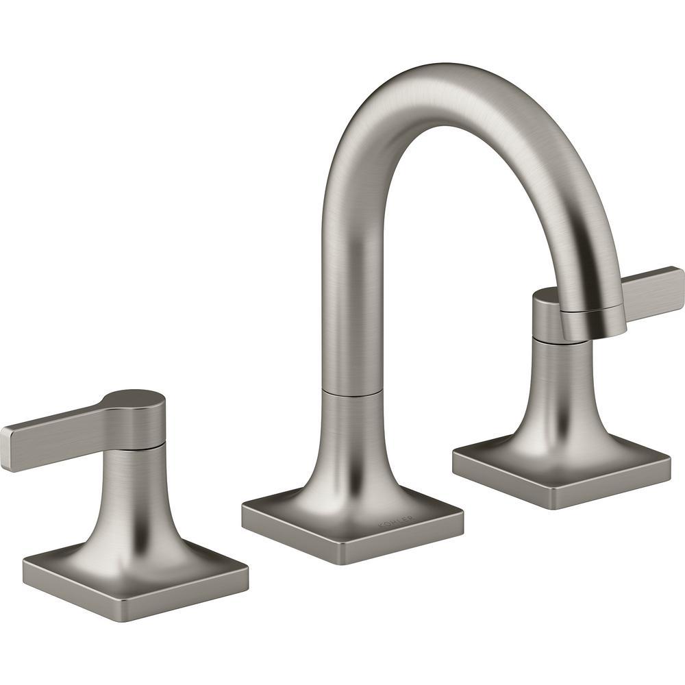 Kohler Venza 8 In Widespread 2 Handle Bathroom Faucet In Vibrant