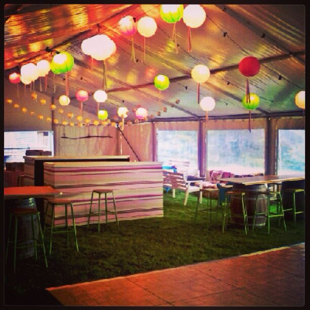 21st birthday party garden party theme inside a marquee for Indoor marquee decoration