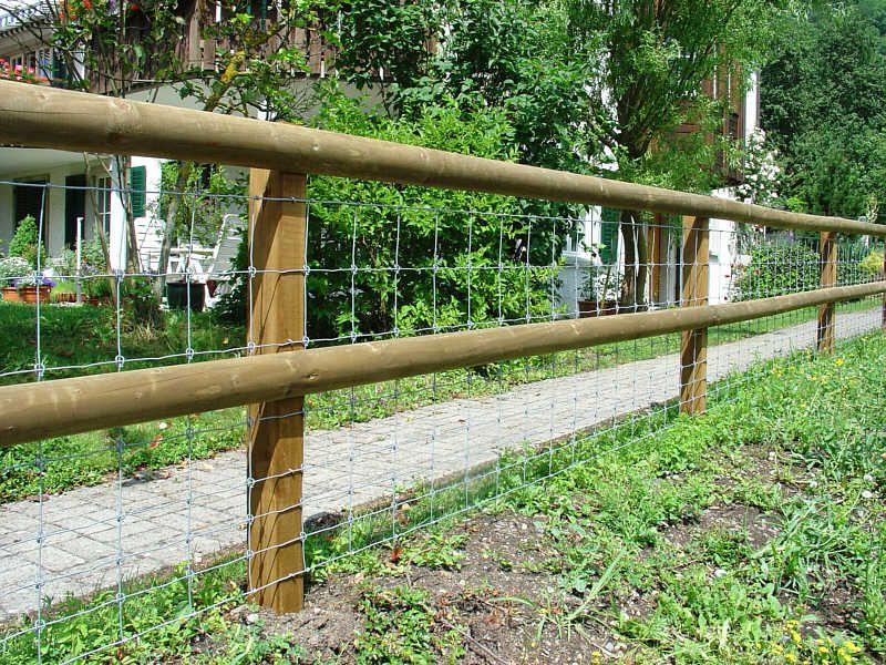 maschendrahtzaun mit holzpfosten google suche gardening pinterest maschendrahtzaun zaun. Black Bedroom Furniture Sets. Home Design Ideas
