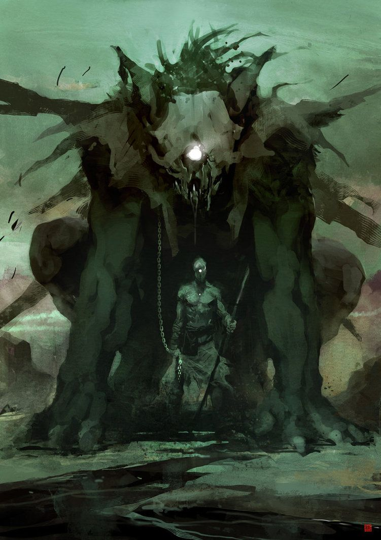 Cyclops by *barontieri - another monster join us http://pinterest.com/koztar/