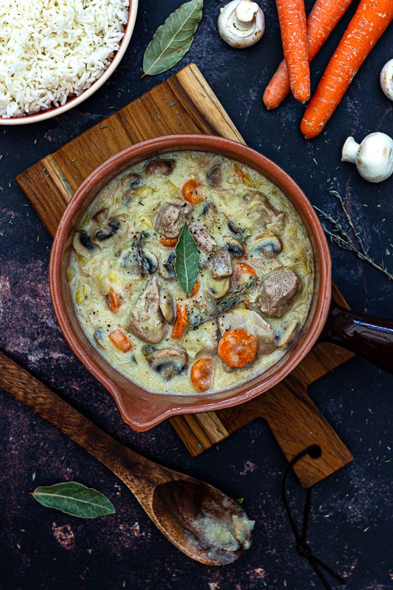 Blanquette de veau (facile) - Amandine Cooking