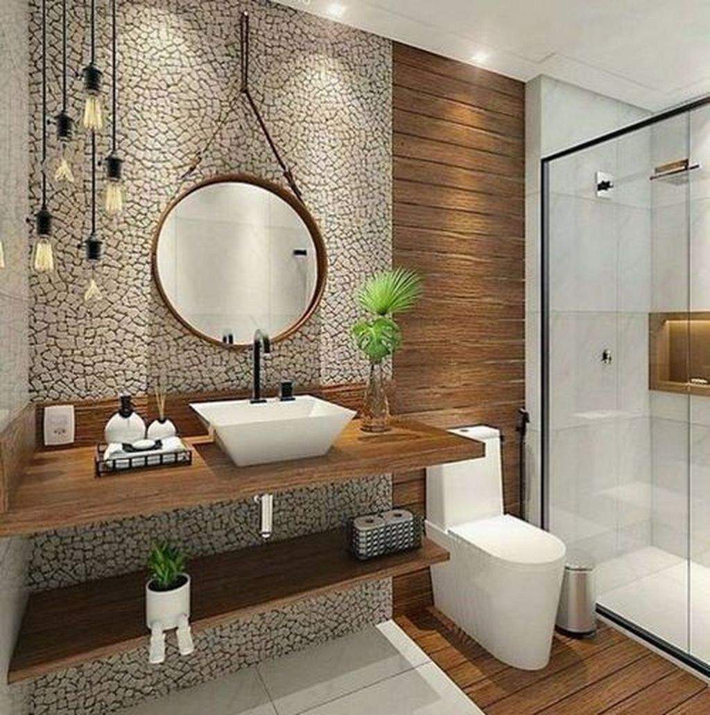 Relaxing Bathroom Decor Ideas For Your Bathroom Look Cool16