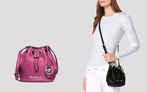 78d274e9898a Michael Kors Mini Crossbody Bucket | Handbags | Michael kors ...