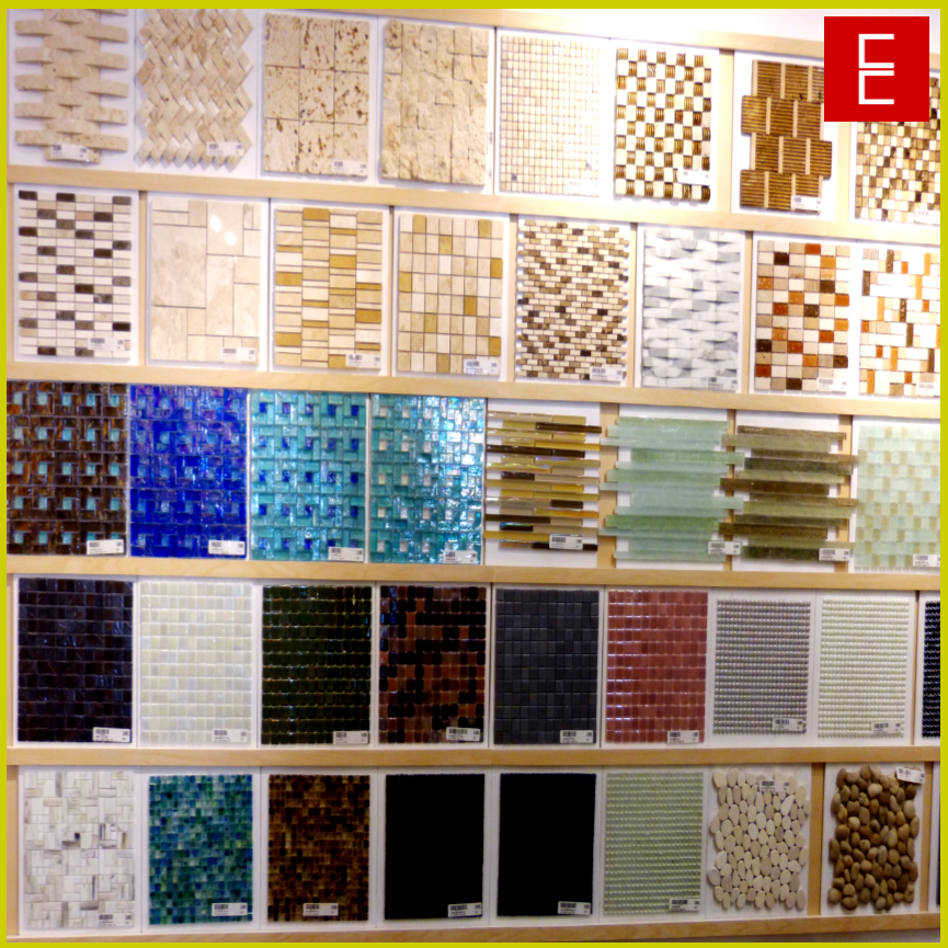 Amplia variedad de mallas para decorar como mosaiquillos, cenefas, y  acentos. Tenemos en