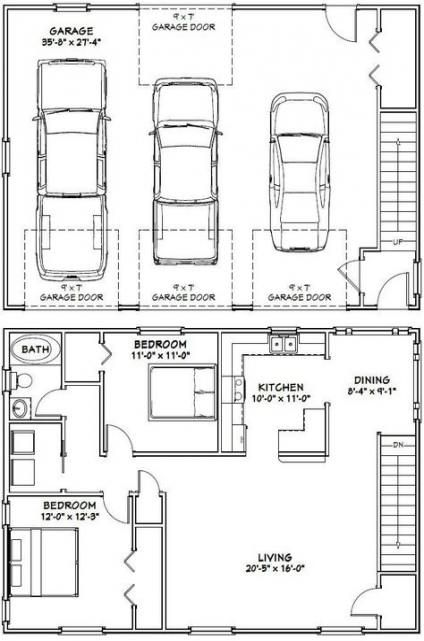 68 Ideas For Apartment Building Design Floor Plans Carriage House Carriage House Plans Garage Floor Plans Garage Apartment Plans