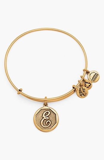 Initial bangle - such a cute gift idea and only $28.00