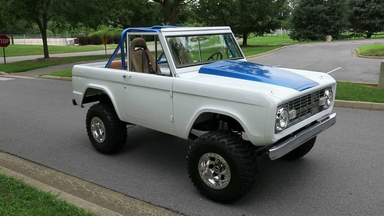 1969 ford bronco restomod for sale eric s muscle cars