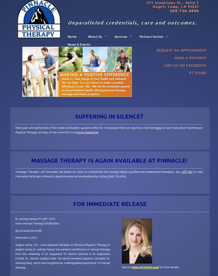 E Rehab Com Offers The Most Flexibile Scalable And Versitile Solutions For Your Online Marketing Needs From The Sma Physical Therapy Therapy Website Therapy