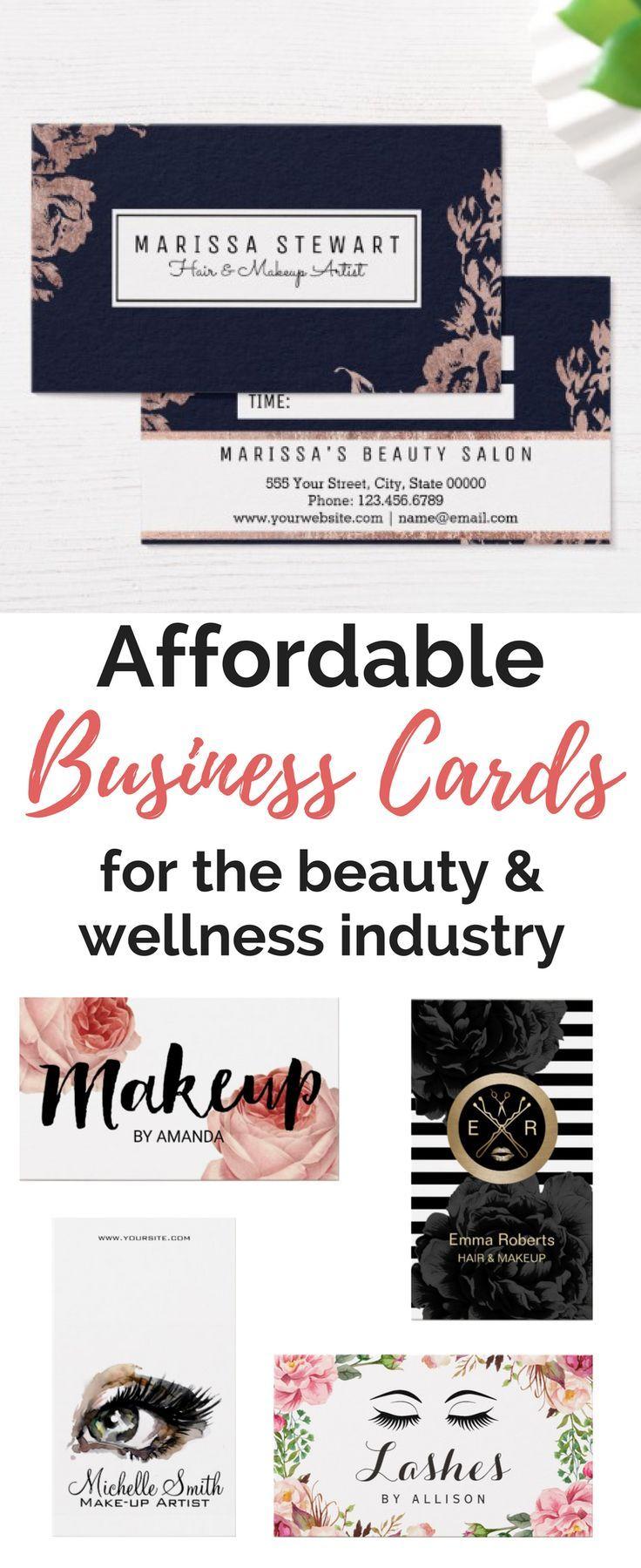 affordable business cards for salons spas best business cards pinterest salons business and hairstylist business cards - Affordable Business Cards