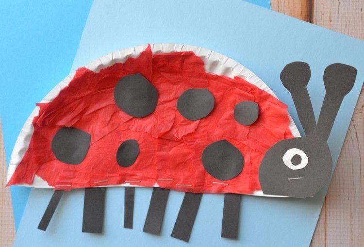 Basteln mit 2-jährigen Kindern – 20 Ideen mit verschiedenen Materialien