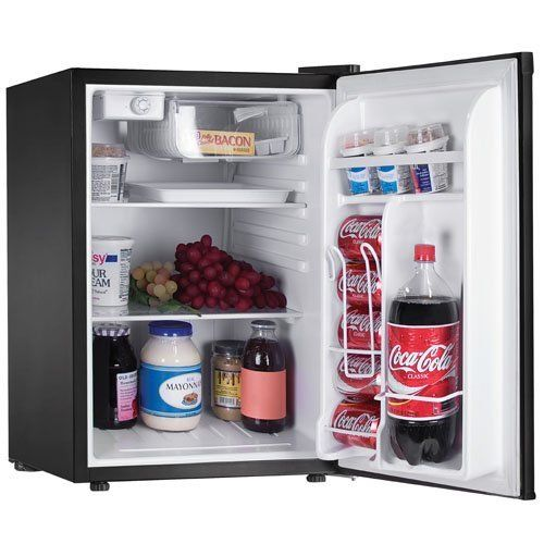 Haier Hnse025bb 2 1 2 Cubic Feet Refrigerator Freezer Black By