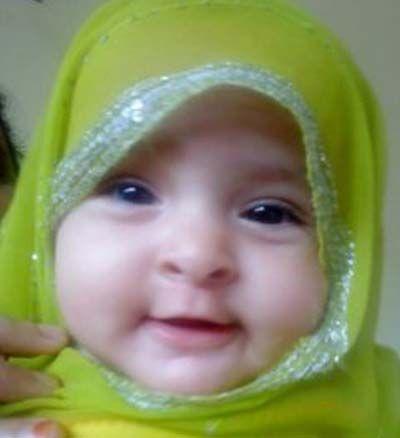 Foto Bayi Perempuan Lucu Hijab Gambar Lucu Cute Babies Cute