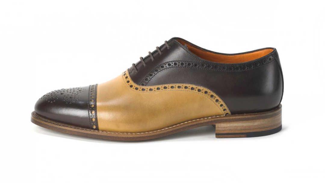 Herrenschuhe Ambiorix ein rahmengenähter Schuh, was sonst