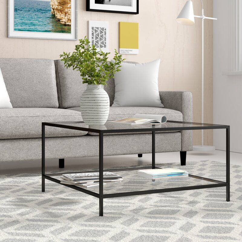 Norval Coffee Table In 2020 Coffee Tables For Sale Coffee Table Wayfair Contemporary Coffee Table