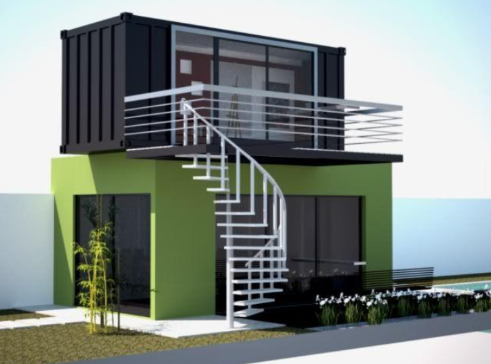 12 Ideas 20ft Shipping Container Home Designs For Modern Design Container Home Eco Hou Shipping Container Home Designs Container House Shipping Container Homes