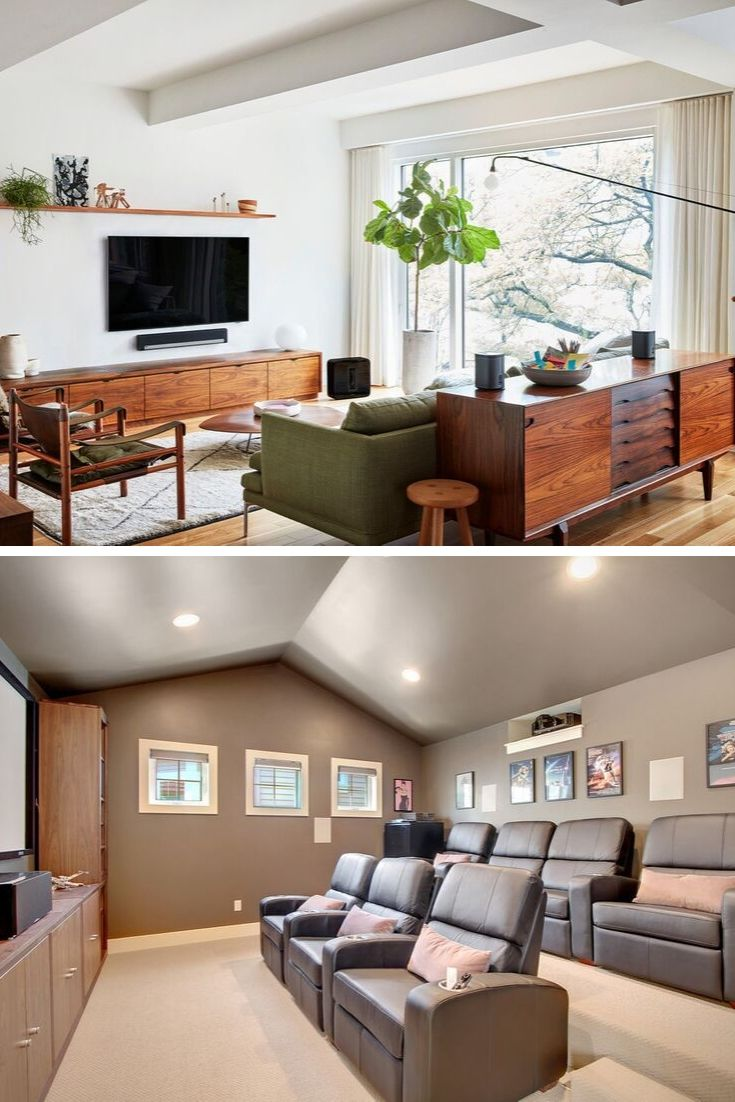 Astronaut images / getty images you may well have a general decorating style chosen for your entire. 35+ Clever Media Room Ideas 2021 (Design & Decor Ideas ...