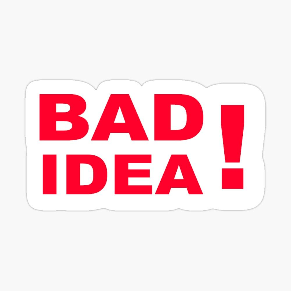 'bad idea girl in red ' Sticker by munizart