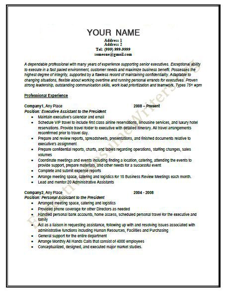 Your #Great #Executive_Resume2013 - Check the #Latest #Format - latest format resume