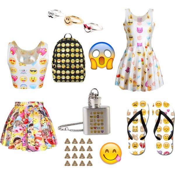 emoji by gaglolsmile on Polyvore featuring polyvore, fashion and style