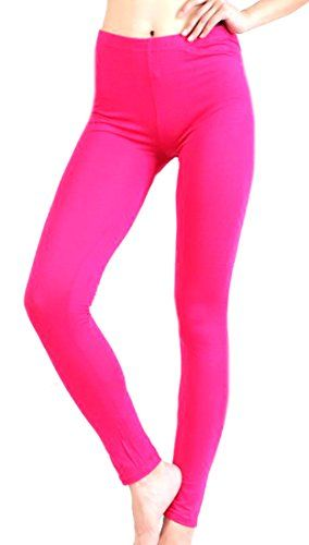 6600be64d XQS Womens Solid Fashion Plus Size Ankle Stretch Leggings Pants ...